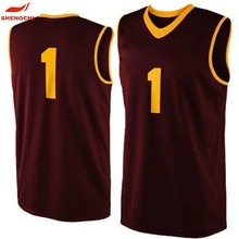 Latest High Quality basketball uniform design Oem Custom basketball jerseys