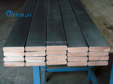 Titanium Clad Copper Flat Bar for electron plating