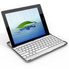 O novo design da caixa de alumínio com teclado dente azul para IPad 2 3 4