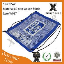 Wholesale backpack drawstring travel shoe bag for storage
