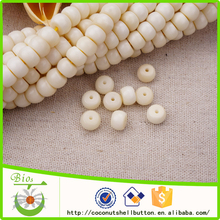 jewelry findings supplier 9*6 mm corozo seed jewellry bead landing wholesale for bead bracelet