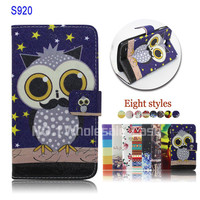 alibaba china leather phone case for lenovo s920 back cover