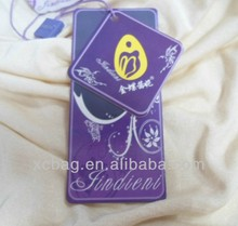 New design china jeans paper hang tag sfor clothig/jeans/bags/shoesclothing hang tag