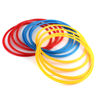 12PCS Innovations Speed Agility Training Rings Multi Color Soccer Basketball