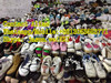 Factory supplier of second hand flat shoes used shoes for reseller for Lome