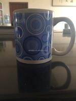 blue and white Chinese porcelain customized mug ceramic coffee mug