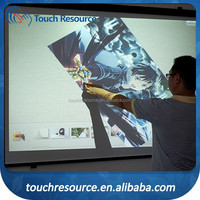interactive optic whiteboard for commercial usage