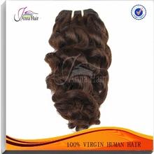 Famous Person Hair Style #1B Color 95-105g Virgin Deep Wave Hair 4 Pcs Lot