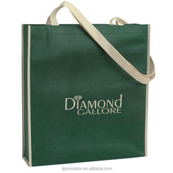 Non-Woven Convention Tote Bag Attaches To Wheel Cart groceries and shopping centers bags