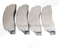 Chinese factory auto parts car brake pad wholesale