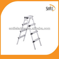 aluminium platform step ladder combination ladder 4 steps