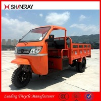Made in China Shineray Enclosed 3 Three Wheel Large Cargo Cabin Motorcycle For Sale