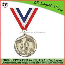 Custom quality free artwork design High Relief Medallion Cross Country