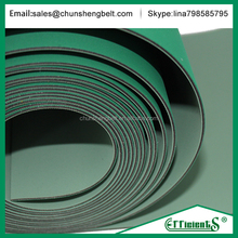 Light Green/Green color fast speed flat rubber stretch belts