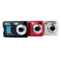"AMKOV 18MP Digital Camera CMOS Sensor 2.7"" TFT 8X Zoom Face Detection Anti-shake Black Red Silvery"