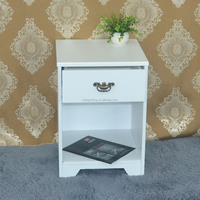 MDF white hover board cabinet with 1 drawers dining room furniture