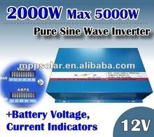 2000w surge 5kw dc to ac power inverter 12V inverter