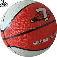 cheap custom printed rubber basketball balls