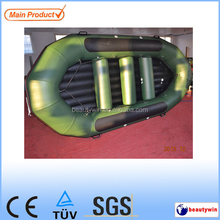 CE certificate korea pvc or hypalon material 4.3m raft boat inflatable raft boat