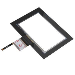 10.1 インチ日光読める j1900 i3 i5 cpu 産業用コンピュータスクリーンオールインワンパネル pc 10 ポイント射影容量性タッチ