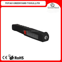 high quality battery operated plastic rechargeable led pen light with magnetic