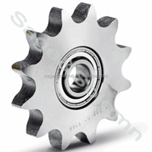 DIN4140 Mirror Finish 12B High Wear Resistance Ball Bearing Idler Sprocket / Bearing Bore Sprocket