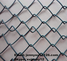 diamante de malla eslabón de la cadena de malla de alambre se utiliza como la esgrima