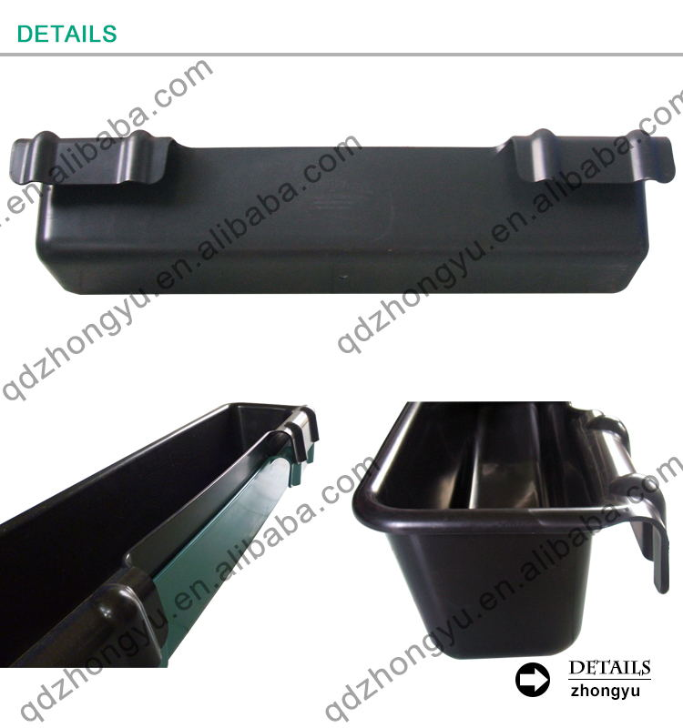 50L Heavy Duty Hook-over Feed Bucket horse trough