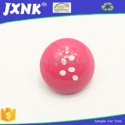 pink cap plastic raw material for button