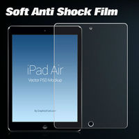 New products anti shock screen guard Anti shock screen protector for iPad mini/iPad Air