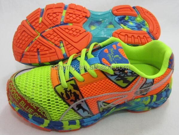 latest popular hot brand men sport running shoes