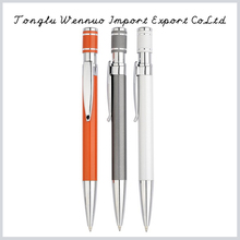 Newest model popular novel design orange metal ball pen