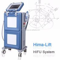 non-surgical skin firming ultrasound face lifting machine HIFU