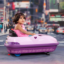 Funny and Exciting Kids Play Mini Car Game Toy, 3 Colors baby Electric Bumper Car