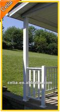 Aluminum garden fence short design
