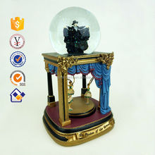 Chinese factory custom snow globe craft with high quality Decorative Hanging snow globe 2015