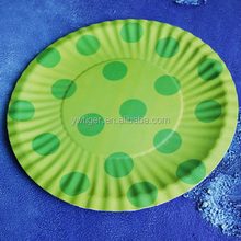 make paper plate,paper plate printing,green plate