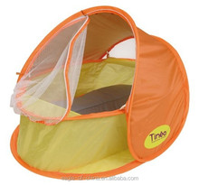 2 in 1 pop up foldable infant baby travel shelter tent