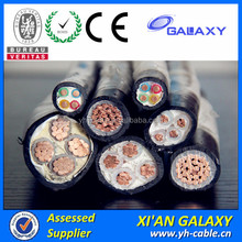 Manufacture Electric Cable And PVC Sheathed XLPE Insulated Electrical Cable Three Phase