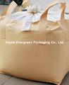 Millfeed / farelo de trigo embalagem super sacos top com preenchimento saia duffle pode ser fechado