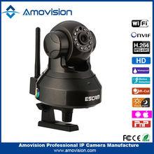 wireless wifi mini ip camera 720P HD Network Home CCTV Audio/Video Security Camera Scan QR Code View