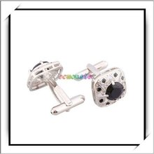 Wholesale! 2012 Metal Ellipsoid Inlays Cuff Links For Mens -11001353