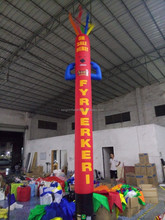 HOT Sale here logo inflatable air dancer for advertising