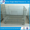 Customized stackable wire mesh cage with wheel