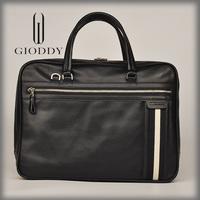Name brand 100% Genuine top sale natural leather messenger bag