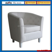 Y-5999 Stylish High Quality Leather Tub Chair Living Room Chair