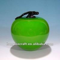 Contemporary Decorative Glass Apple LRT311