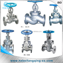stainless steel 200PSI compressed air stem gate valve 1 inch