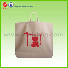 2015 Popular Cloth Garment Recycle Cotton Tote Bag Wholesale