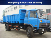 Factory direct supply 4x2 or 4x4 10 tons 8 m3 Dongfeng dump truck curb weights